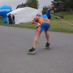 Półmaraton na Rolkach Stolno impreza dla Rolkarzy rolki szybkie wrotkarstwo rolkarstwo Podejmij wyzwanie SkieraMedia PlichWyscig MapleSkate BDC Mapei Roller Team Chojnacki final sprint
