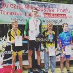Rolki jazda szybka Uliczne Mistrzostwa Polski Tomaszów Lubelski Klub Legia Warszawa Mistrzem Polski Race Machine Le Luigino