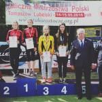 Rolki jazda szybka Uliczne Mistrzostwa Polski Tomaszów Lubelski Klub UKS znicz Kłodzko Mistrzem Polski w jeździe szybkiej