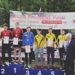 Rolki jazda szybka Uliczne Mistrzostwa Polski Tomaszów Lubelski Klub UKS znicz Kłodzko Mistrzem Polski w jeździe szybkiej na rolkach